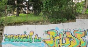 Графити добродошлице у Рудом