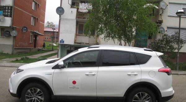Донација аутомобила за ЈУ ЦСР Рудо