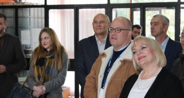 Шеф ОСЦЕ Мисије у БиХ у посјети школама у Рудом и Горажду
