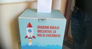 Građani glasali za uređenje grada