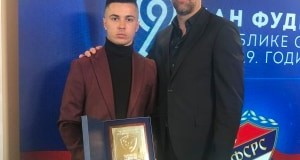 Vladimir Bradonjić – proglašen za najboljeg mladog fudbalera Republike Srpske u 2019. godini