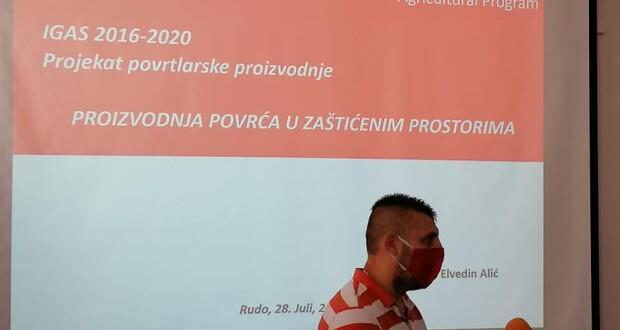 Општина Рудо и Каритас Швајцарске донирали нових 10 пластеника