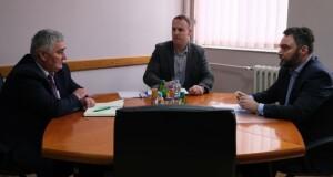 Министар Кошарац у радној посјети општини Рудо
