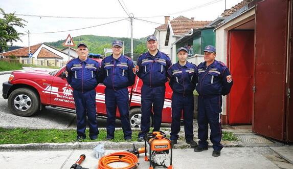 Održana redovna godišnja sjednica Skupštine Vatrogasnog društva Rudo